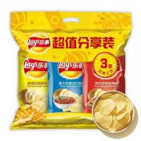 Lay's 樂事 薯片 超值分享裝 210g(3包)