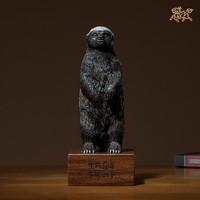 銅師傅 全銅擺件《平頭哥》銅工藝品 家居飾品 客廳擺件 家居禮品