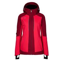 phenix菲尼克斯滑雪服女秋冬新品防水防風保暖滑雪衣PS982OT63 玫紅 M