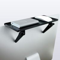 電腦顯示器置物架通用電視機頂盒支架免打孔支架機頂盒架置物架