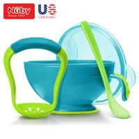 Nuby 努比 寶寶輔食研磨器碗帶勺子套裝 *4件