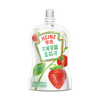亨氏 超金果泥 寶寶輔食營養 蘋果草莓番茄泥78g *24件