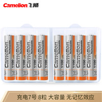 Camelion 飛獅 高容量鎳氫充電電池 7號/AAA 8粒裝 *3件