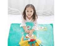 特價 泰國JACE 匹魯卡通珊瑚絨空調毛毯(100*140cm 單層薄款)