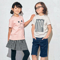 考拉海購黑卡會員 : 千趣會  兒童短袖T恤 110-150厘米 *3件