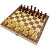 奇享橙國際象棋木質 可折疊原木 磁性棋子環保漆做工內嵌式 *3件