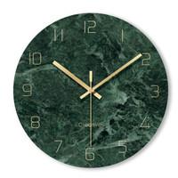 靜音掛鐘客廳石英鐘表家用時鐘