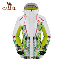 CAMEL駱駝戶外滑雪服 親子款加厚保暖登山滑雪服外套
