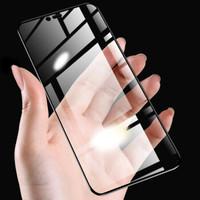哲貓 小米8鋼化膜8se全屏覆蓋藍光玻璃mi屏幕指紋版無白邊 2片裝