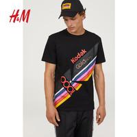 H&M 0691591 男士短袖