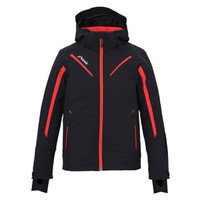 phenix菲尼克斯滑雪服兒童款秋冬新品防水保暖滑雪外套ES9G2OT80 黑色BK 150