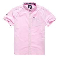 【限时清仓】Superdry 极度干燥 男士舒适POLO衫/短袖T恤/衬衫 多款可选  M40001MO COAST PINK M