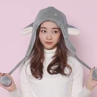 Bopu 抱璞創意 護耳毛絨帽子