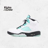 Air Jordan5 Green aj5 薄荷綠 郭艾倫 男子 潮流 休閑 籃球鞋