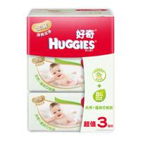 HUGGIES 好奇 金裝 嬰兒濕巾 80片 3包 *10件