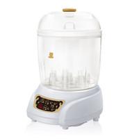 小白熊  嬰兒奶瓶蒸汽消毒器帶烘干 寶寶消毒鍋 HL-0681