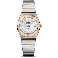 京東PLUS會員 : OMEGA 歐米茄 星座系列 123.20.27.20.55.001 女士機械手表