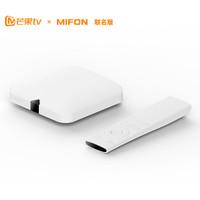芒果TV x MIFON聯名版 F1C全4K智能電視盒子 送芒果TV會員季卡  無線投屏