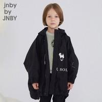 jnby by JNBY 1JB710310  江南布衣童裝 2019春季蝙蝠袖男女童兒童羽絨服 001/本黑 110cm