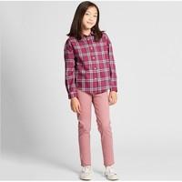 UNIQLO 優衣庫 兒童法蘭絨格子襯衫