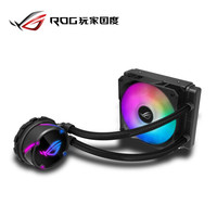 華碩ROG STRIX LC 120 RGB版飛龍系列一體式CPU水冷散熱器 RGB神光同步燈效