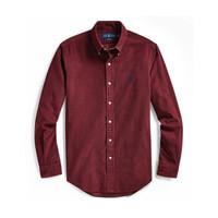 Ralph Lauren/拉夫勞倫男裝 2019年秋季定制版型燈芯絨襯衫11406 B46-紫紅色 XS