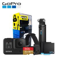 GoPro HERO8 Black運動相機攝像機 4K水下潛水vlog攝影機套裝