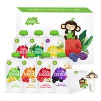 京東PLUS會員 : LittleFreddie 小皮 7口味果蔬泥禮盒裝 100g*7袋 +湊單品