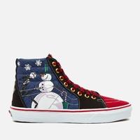 VANS × The Nightmare Before Christmas联名款 高帮帆布鞋