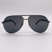 MontBlanc 萬寶龍 男款銀色鏡框灰色鏡片墨鏡眼鏡太陽鏡 504T 16A Shiny Palladium / Grey (Aviator - Full Rim)