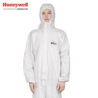 霍尼韋爾(Honeywell)4500501防化服 標準連體防護服 防粉塵防液體噴濺 白色M碼