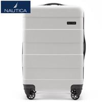 諾帝卡(NAUTICA)行李箱男女時尚潮20英寸10101109 白