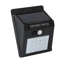 KINTEN 太陽能燈人體感應燈庭院燈LED戶外防水壁燈