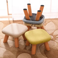 YOUHAN 優涵 創意布藝蘑菇凳 2個