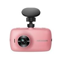 HIKVISION ??低?C4 智能行車記錄儀 1080P 粉色