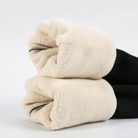CHUNSHU 唇束 8896 女士冬季羊羔絨打底褲