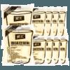 龍王豆漿粉210g獨立小包裝原味黃豆黑豆漿早餐商用沖飲甜味豆粉
