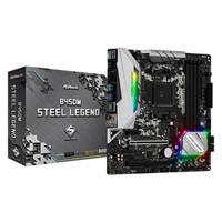 華擎 B450M STEEL LEGEND 主板   AMD R5-3600 板U套裝