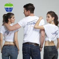 texwood萍果男女通款月份印花情侶圓領短袖T恤打底衫E94A0021