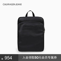 CK JEANS 2019秋冬新款 男士輕便休閑旅行雙肩包 HH2103Q6000 001-黑色 ST