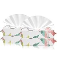美怡寧嬰兒濕巾紙手口屁專用幼兒新生寶寶濕紙巾80抽X5大包裝100