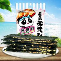 熊貓先生 椰子味 脆米夾心海苔脆片 20g *16件