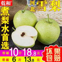 雪梨 雪花梨5斤10斤新鮮水果整箱梨子當季皇冠梨碭山酥梨香梨包郵