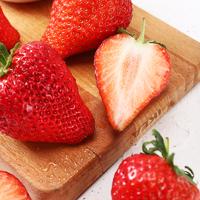 新鮮紅顏草莓 精選4斤裝