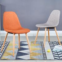 現代簡約北歐餐桌椅組合小戶型家用實木飯桌 *2件