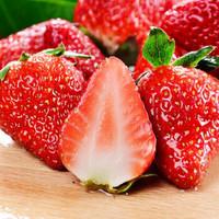 四川大涼山紅顏草莓 紅顏奶油冬草莓 現摘新鮮水果帶箱 5斤