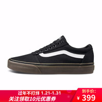 Vans范斯 運動休閑系列 帆布鞋 Ward低幫新款男子官方 黑色VN0A36EM7HI 43 *3件