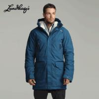 Lundhags 隆哈 1127054 戶外男女士中長款防風保暖加拿大鵝棉衣