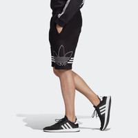 adidas  阿迪達斯 三葉草 OUTLINE TRF SH ED4696 男裝經典運動褲短褲