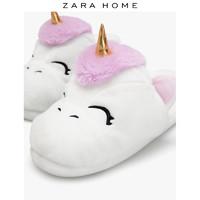 ZARA HOME 13004071001 北歐獨角獸兒童拖鞋
